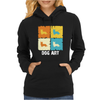 Cardigan Welsh Corgi Dog Art Womens Hoodie