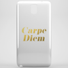Carpe Diem Faux Gold Foil Phone Case