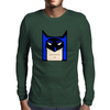 Cartoon Batman Mens Long Sleeve T-Shirt