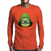 Cartoon Green Arrow Mens Long Sleeve T-Shirt