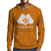 Cartoon Hands Diamond Mens Hoodie