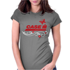 Case IH Farm BUTTERFLY Womens Fitted T-Shirt