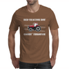 Case IH Red Tractor Boy Comin' Through Mens T-Shirt