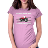 Case IH Red Tractor Boy Comin' Through Womens Fitted T-Shirt
