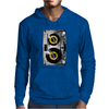 Cassette Tape Vinyl Record DJ Turntable Mens Hoodie