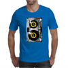 Cassette Tape Vinyl Record DJ Turntable Mens T-Shirt