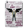 Castiel Quotes Tablet