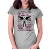 Castiel Quotes Womens Fitted T-Shirt