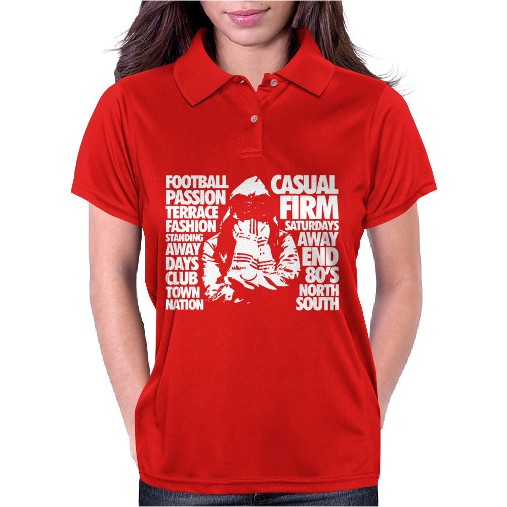 Casual Culture Football Terrace Womens Polo