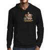 Cat and Mouse on adventure Mens Hoodie