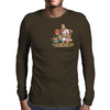 Cat and Mouse on adventure Mens Long Sleeve T-Shirt