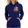 Cat and Mouse on adventure Womens Hoodie