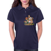 Cat and Mouse on adventure Womens Polo