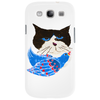 Cat and the Bluebird Phone Case
