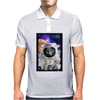 Cat Astronaut Mens Polo