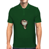 Cat breaking through  Mens Polo