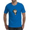 Cat breaking through  Mens T-Shirt