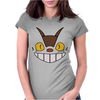 Cat Bus Face Womens Fitted T-Shirt