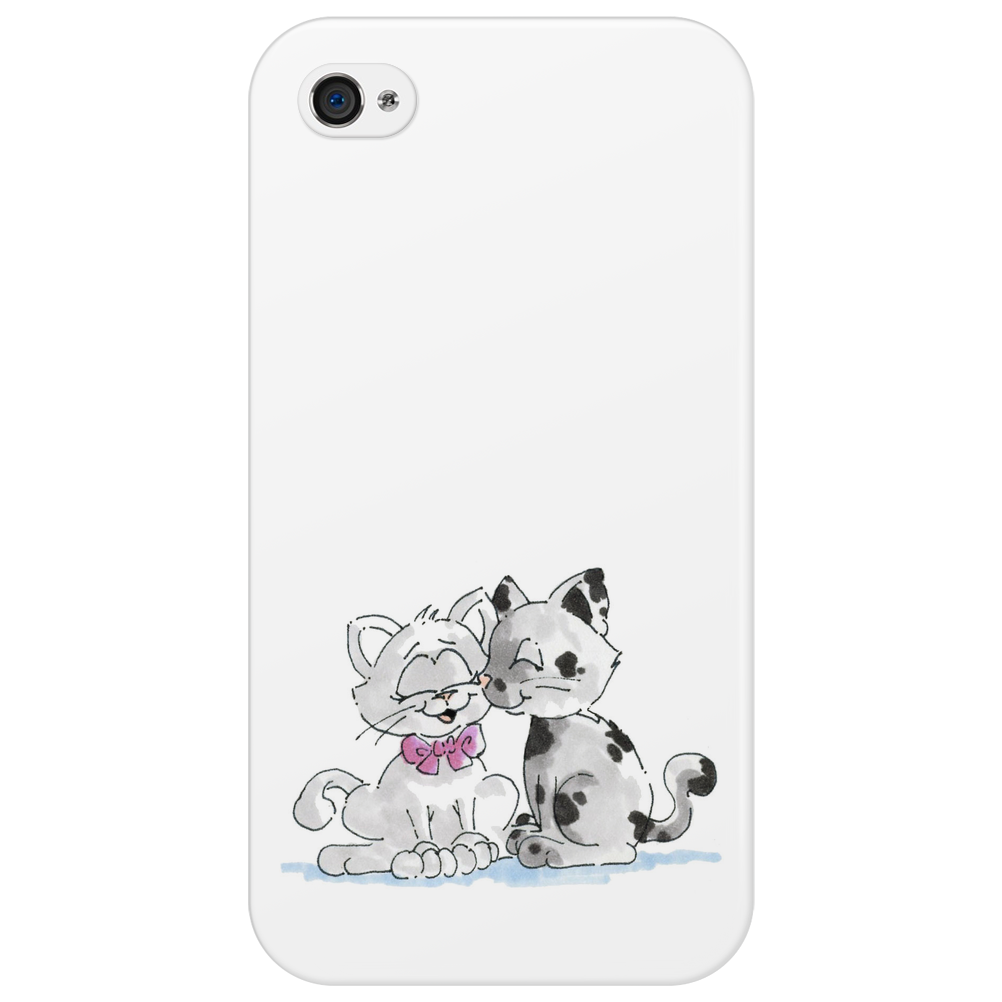 Cat Couple - Katzenpärchen Phone Case
