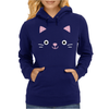 Cat face -kawaii- Womens Hoodie