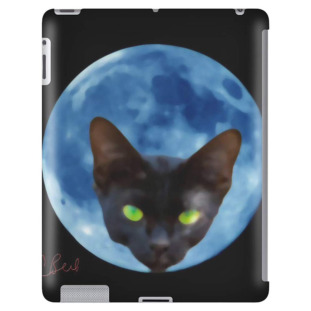 Cat Head in the Moon Tablet