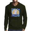 Cat in Pray Mens Hoodie