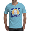 Cat in Pray Mens T-Shirt