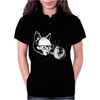 Cat in Space lasers nerd hipster Womens Polo