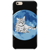 Cat on the Moon Phone Case