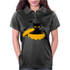 Cat Sits In A Pumpkin Womens Polo