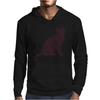 Cat stripes Mens Hoodie