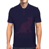 Cat stripes Mens Polo