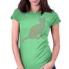 Cat stripes Womens Fitted T-Shirt