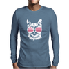 Cat USA Mens Long Sleeve T-Shirt