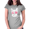 Cat USA Womens Fitted T-Shirt