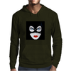 Cat Woman Face Mens Hoodie