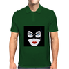 Cat Woman Face Mens Polo