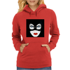 Cat Woman Face Womens Hoodie