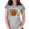 Catch the Ball Womens Fitted T-Shirt