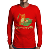 Caterpie Fainted!!! Mens Long Sleeve T-Shirt