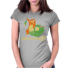 Caterpie Fainted!!! Womens Fitted T-Shirt