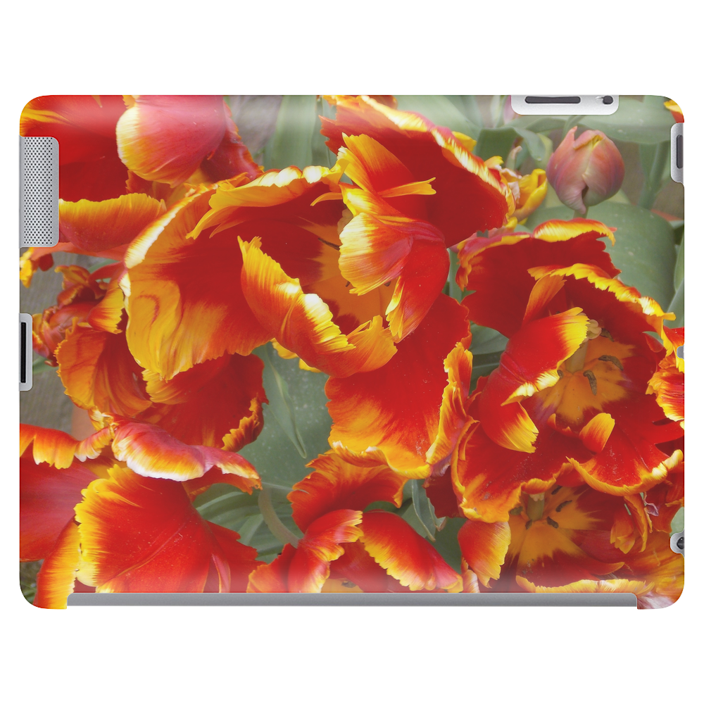 Cathedral Tulips Tablet (horizontal)