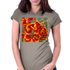 Cathedral Tulips Womens Fitted T-Shirt