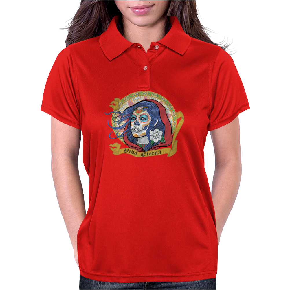 Catrina (Day of the Dead) Womens Polo