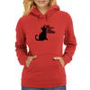 Cats against catcalls Womens Hoodie