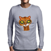 Cats Eyes Mens Long Sleeve T-Shirt