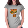 Cats Eyes Womens Fitted T-Shirt