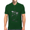 Cats Suck Bulldog On Chopper Motorcycle Mens Polo