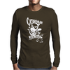 Catwoman Meow Comic Funny Mens Long Sleeve T-Shirt