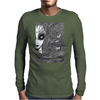 CAUGHT (Original Version) Mens Long Sleeve T-Shirt
